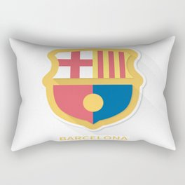 Barcelona FC Flat Logo Rectangular Pillow