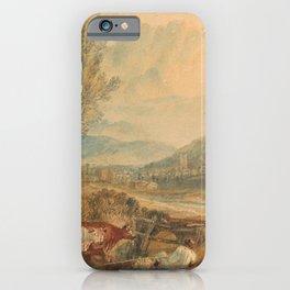william turner Lulworth Castle  Dorset  1820 iPhone Case