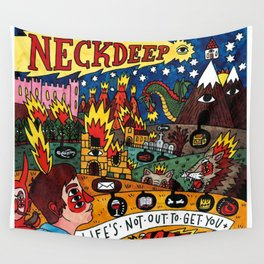 Neck Deep LNOTGY Wall Tapestry