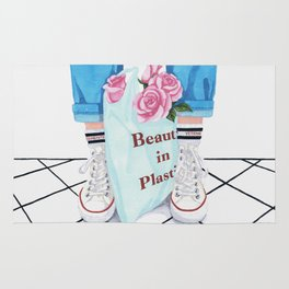 _Beauty in Plastic Bag Rug