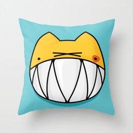 MeoRRRRw Throw Pillow