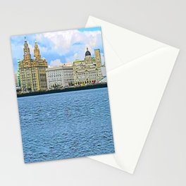 Liverpool Water Front Stationery Cards