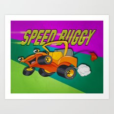Speed Buggy Art Print