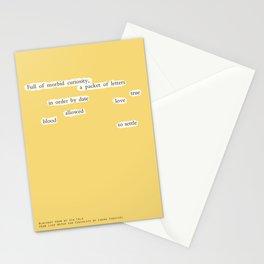 Blackout Poem {010.} Stationery Cards