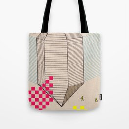 Fig 5. Primary Prism Banana Tote Bag