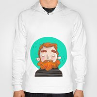 ginger Hoodies featuring Ginger by caridibuja