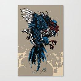 Sirin / Bird of Sorrow Canvas Print