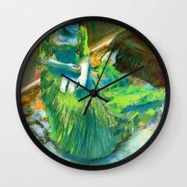 """Edgar Degas """"Before the Curtain Call"""" Wall Clock"""