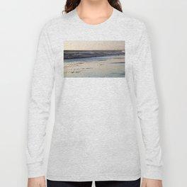 Beach Sunset Ormond Beach Long Sleeve T-shirt