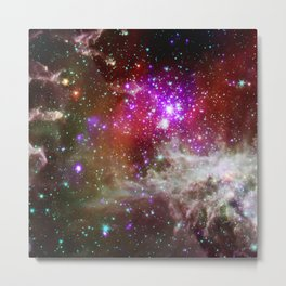 NGC 281 nebula with active star formation (NASA/Chandra) Metal Print