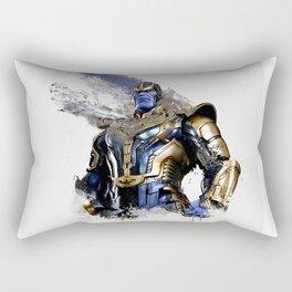 Thanos digital artwork Rectangular Pillow