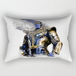 Thanos digital artwork Rectangular Pillow