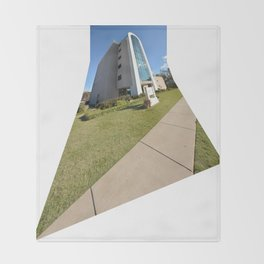 Northeastern State University - The W. Roger Webb IT Building, No. 9 Throw Blanket