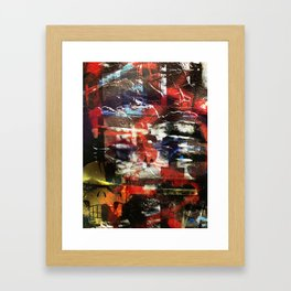 Port Authority and Bedford Avenue Framed Art Print