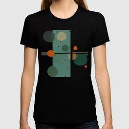 The Girl and the Moon (Pattern) T-shirt