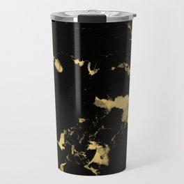 Black Marble #5 #decor #art #society6 Travel Mug