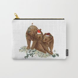 christmas bears Carry-All Pouch