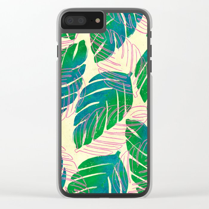 Paradiso II Clear iPhone Case
