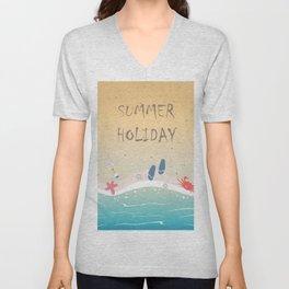 Summer Holiday Unisex V-Neck