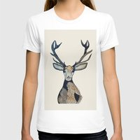 stag T-shirts featuring Stag by The Art Hutch