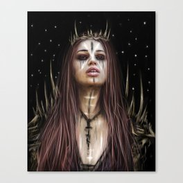 Against the Night Canvas Print