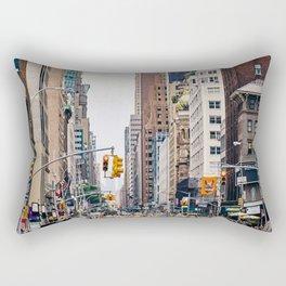 New York Street 1 Rectangular Pillow