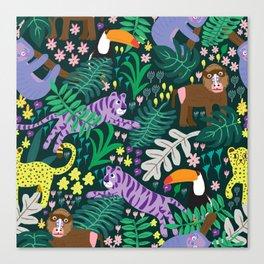 jungle madness Canvas Print