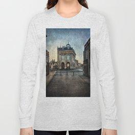 The Town Hall At Abingdon Long Sleeve T-shirt