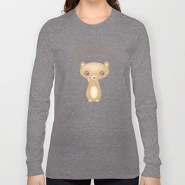 Bear With Me - Creepy Cute Teddy Long Sleeve T-shirt