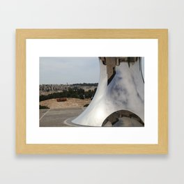 Anish Kapoor's sculpture, Israel Museum, Jerusalem Framed Art Print