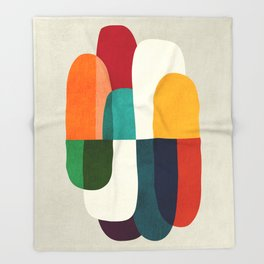 The Cure For Sleep Throw Blanket