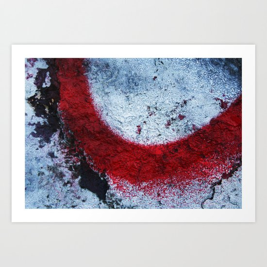Red Paint Art Print
