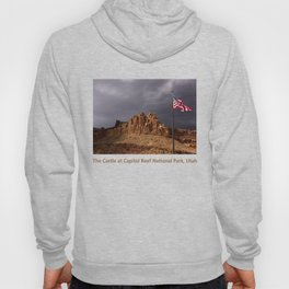 The Castle at Capitol Reef National Park, Utah Hoody