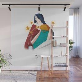 Human Horscope - Aquarius Wall Mural