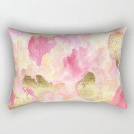 Gold Tulips Rectangular Pillow