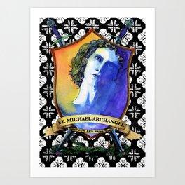 St. Michael, Archangel Art Print