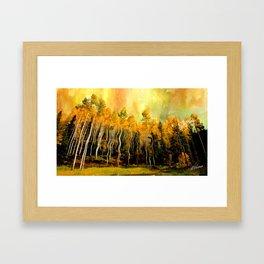 Aspen Brillance Framed Art Print