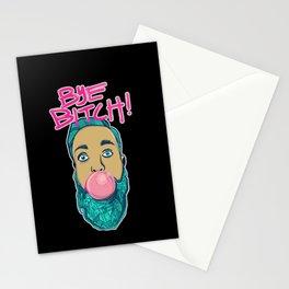 BYE!!! Stationery Cards