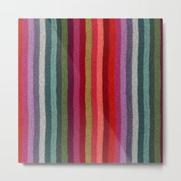 Get Knitted Metal Print