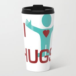 I heart Hugs Travel Mug