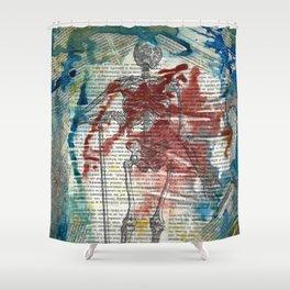 Vesalius Grave digger Shower Curtain