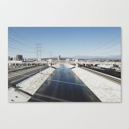 Los Angeles River Canvas Print