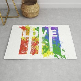 LOVE/COLOR Rug