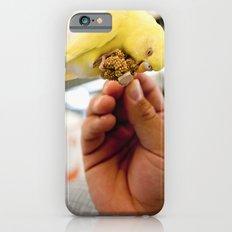 Yellow Parakeet Slim Case iPhone 6s