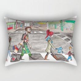 Aspie Road Rectangular Pillow