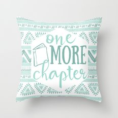 One More Chapter - Tribal  Throw Pillow