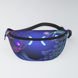 Zodiac neon signs — Pisces Fanny Pack