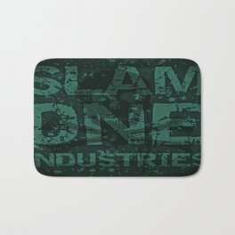 Slam 1 Industries Blue Skull Cross Bones Bath Mat