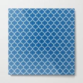 Harem Window (Lapis Blue) Metal Print
