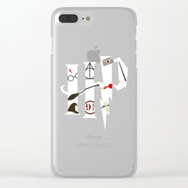 The Magical World of HarryPotter Clear iPhone Case